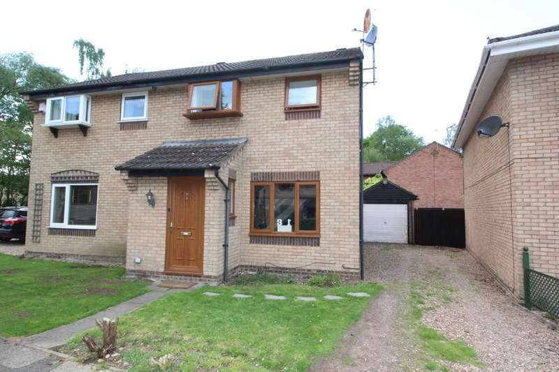 3 Bedrooms Semi Detached House for sale in Cottesmore Road, Lincoln, LN6