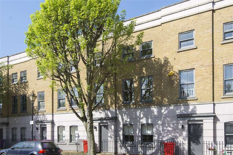 4 Bedrooms Terraced House for sale in Anchor Terrace, Cephas Avenue, London, E1