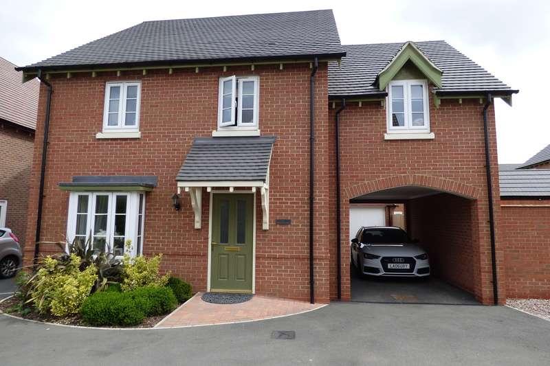 4 Bedrooms Detached House for sale in Hereward Way, Churchfields, Nuneaton, CV10