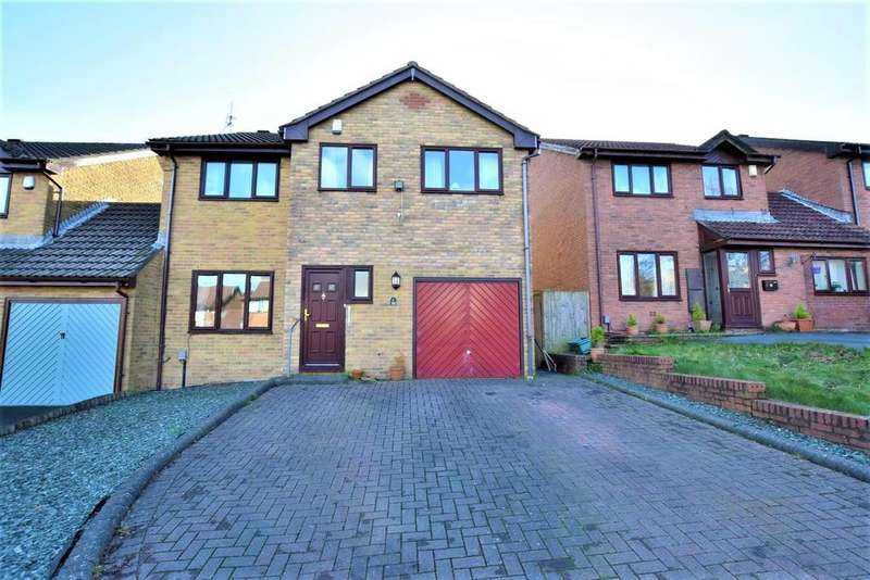 4 Bedrooms Link Detached House for sale in Priory Gardens, Barry