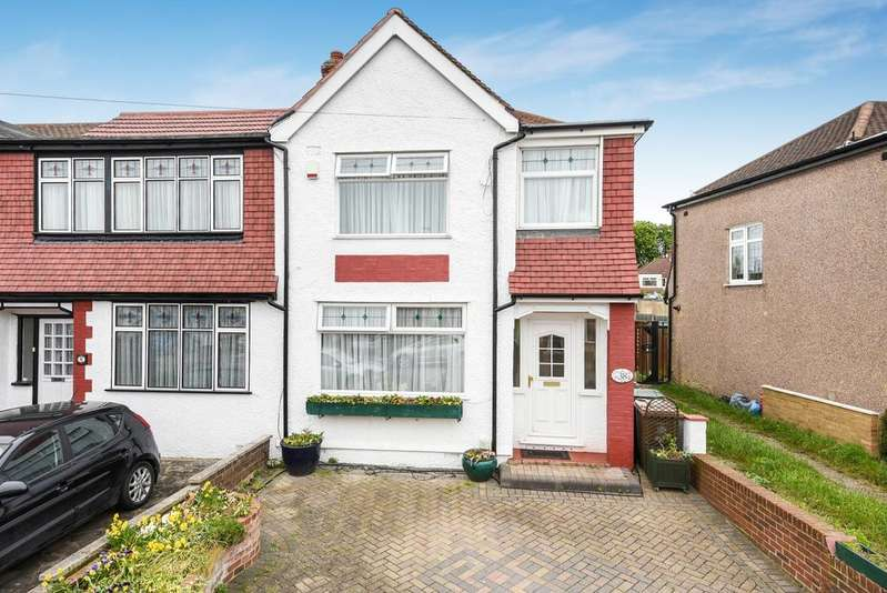 3 Bedrooms End Of Terrace House for sale in Amberley Road London SE2