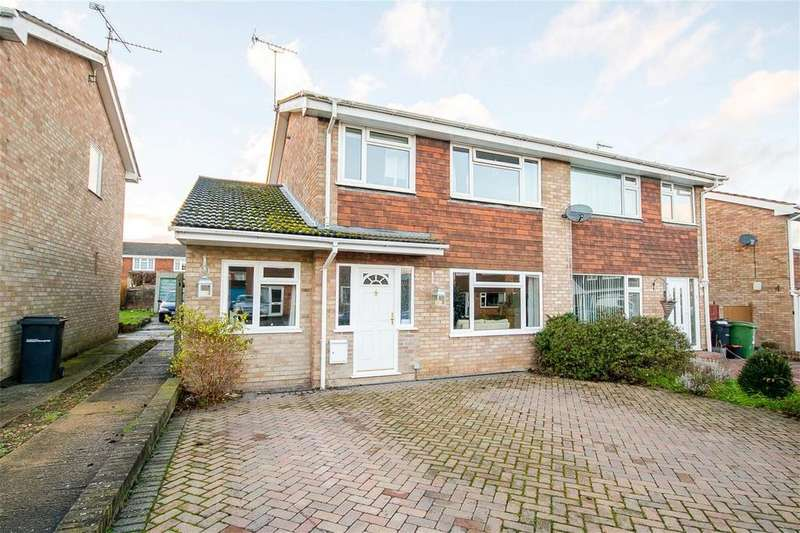 4 Bedrooms Semi Detached House for rent in Chestnut Drive, Coxheath, Maidstone, Kent, ME17