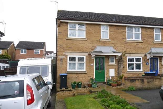 3 Bedrooms End Of Terrace House for sale in Petworth Drive, Market Harborough, Leicestershire