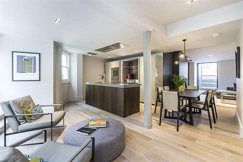 3 Bedrooms Flat for sale in St. Olave's Court, Ironmonger Lane, EC2V