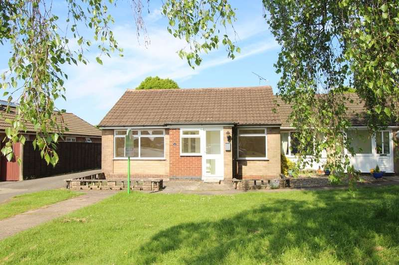 2 Bedrooms Semi Detached Bungalow for sale in Ribblesdale Avenue, Hinckley, LE10