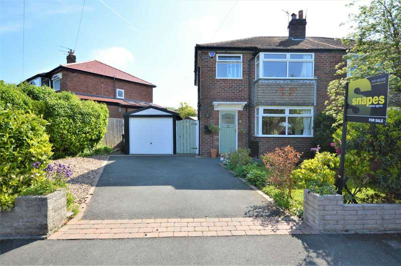 3 Bedrooms Semi Detached House for sale in Capesthorne Close, Stockport