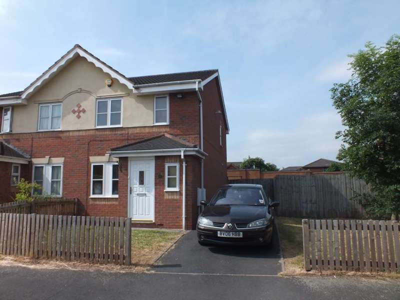 3 Bedrooms Semi Detached House for rent in Waterside Close, Bordesley Village