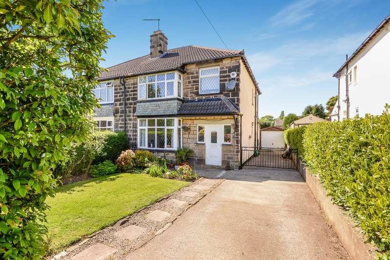 3 Bedrooms Semi Detached House for sale in Layton Lane, Rawdon, Leeds, LS19 6RQ