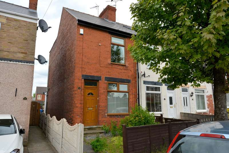 2 Bedrooms End Of Terrace House for sale in Storforth Lane, Hasland, Chesterfield, S40 OPW
