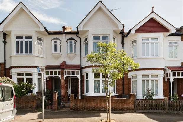 3 Bedrooms Terraced House for sale in Ruskin Walk, Herne Hill