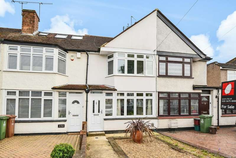 2 Bedrooms Terraced House for sale in Sherwood Park Avenue Sidcup DA15