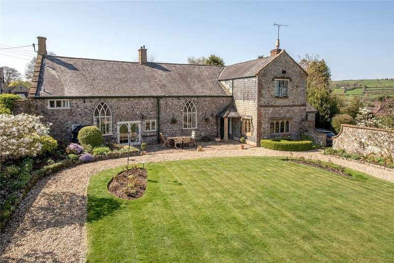 5 Bedrooms Detached House for sale in Wadeford, Chard, Somerset
