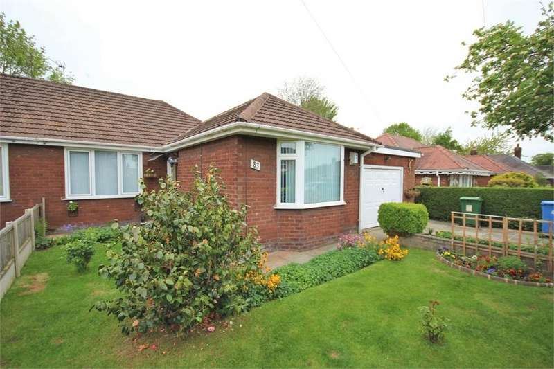 3 Bedrooms Semi Detached Bungalow for sale in Mayfield Avenue, WIDNES, Cheshire