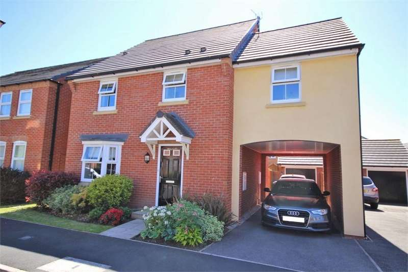 4 Bedrooms Detached House for sale in Maisemore Fields, Ascot Gardens, WIDNES, Cheshire
