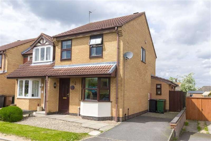 3 Bedrooms Semi Detached House for sale in Lilac Close, Loughborough, LE11