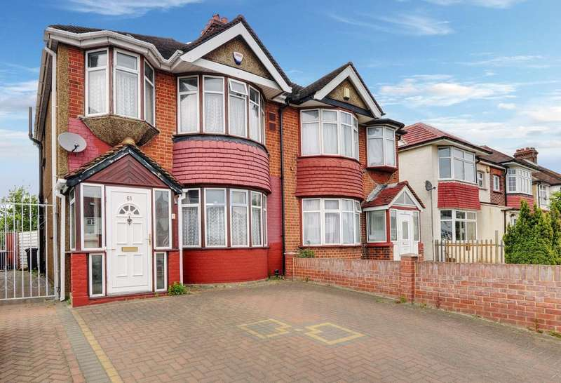 3 Bedrooms Semi Detached House for sale in Great South West Road, Hounslow TW4