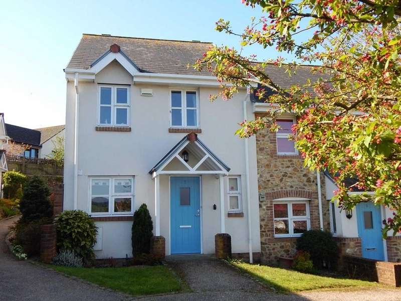 2 Bedrooms End Of Terrace House for sale in Queens Court, Colyton