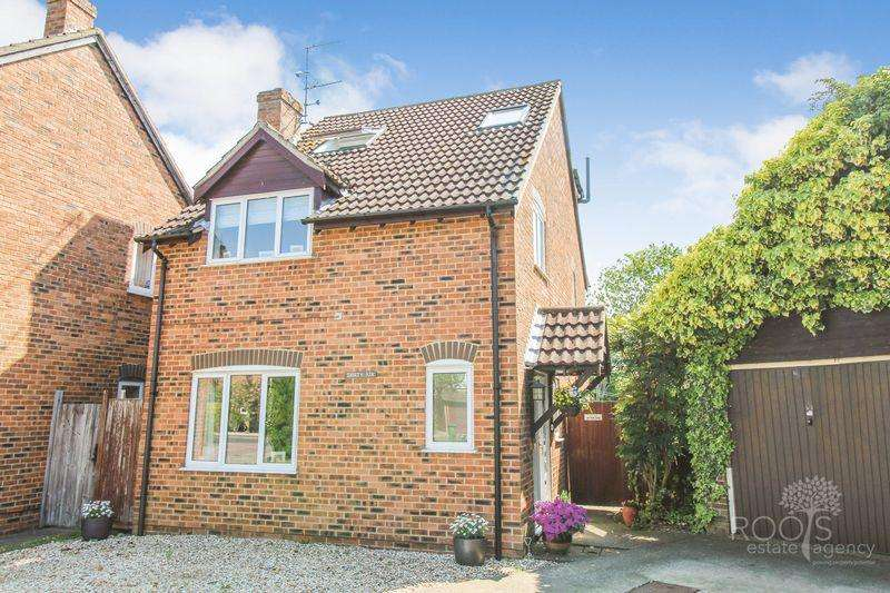 4 Bedrooms Detached House for sale in Wheelers Green Way, Thatcham