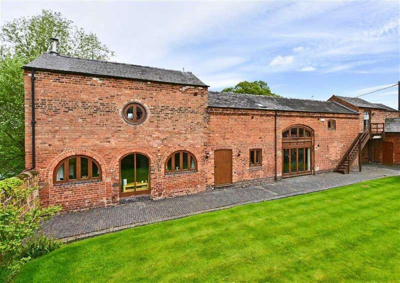4 Bedrooms Barn Conversion Character Property for sale in The Pond House, Heath House Lane, Codsall, Wolverhampton, WV8