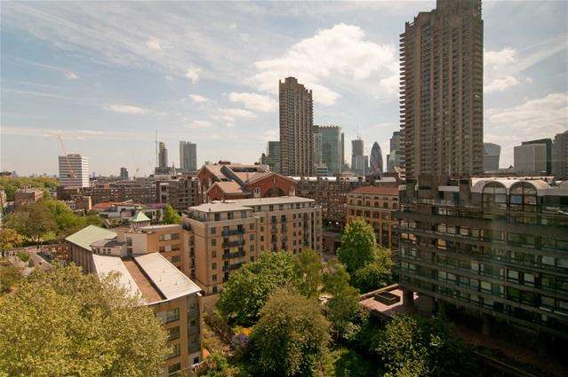 1 Bedroom Flat for sale in Blake Tower, Barbican