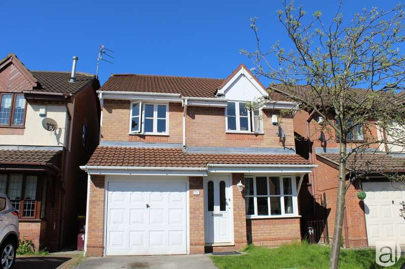 4 Bedrooms Detached House for sale in Newark Close Huyton L36