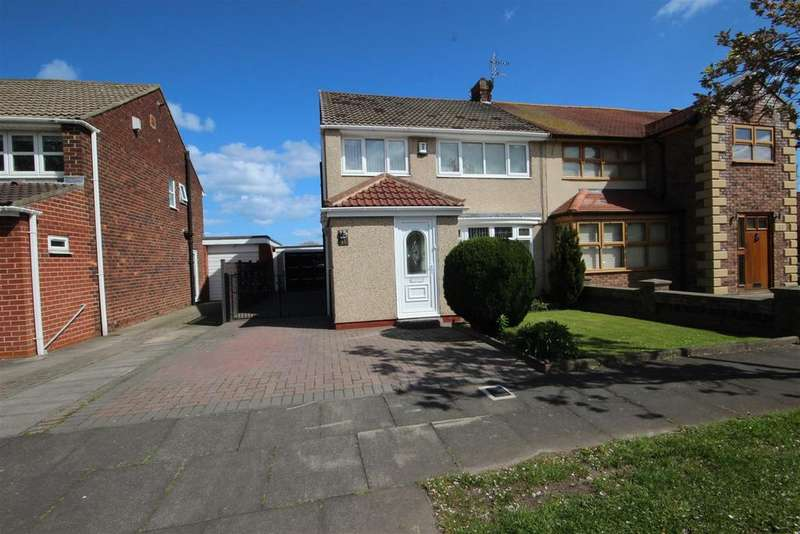 3 Bedrooms Semi Detached House for sale in Kildale Grove, Seaton Carew, Hartlepool