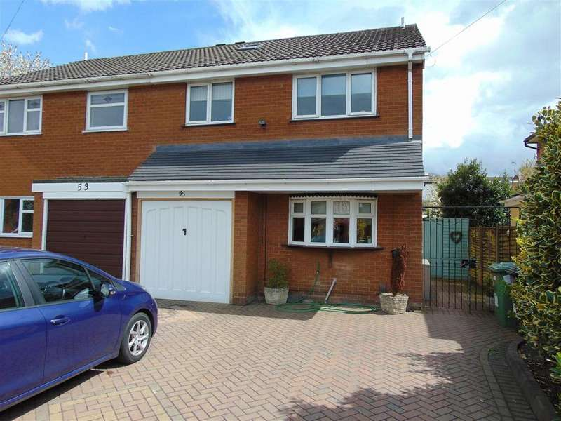 3 Bedrooms Semi Detached House for sale in Lindon Road, Brownhills