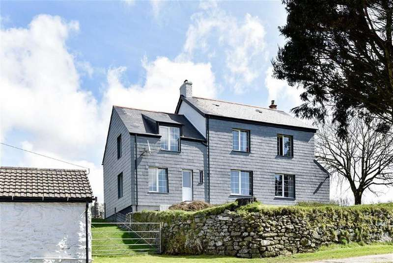 5 Bedrooms Detached House for sale in Minions, Liskeard, Cornwall, PL14