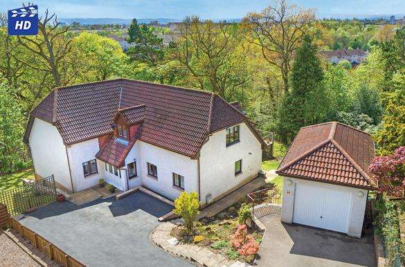 4 Bedrooms Detached House for sale in 10 Camstradden Drive East, Bearsden, G61 4AH