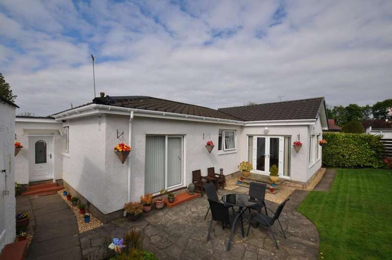 4 Bedrooms Detached Bungalow for sale in Broomcroft Road, Newton Mearns, Glasgow, G77