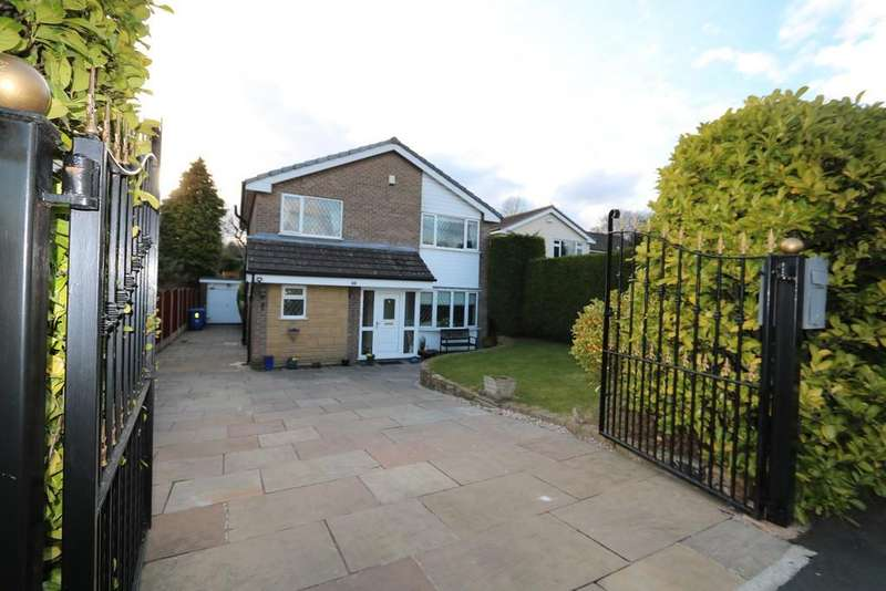 4 Bedrooms Detached House for sale in Shearwater Road Offerton Stockport Cheshire SK2 5UQ