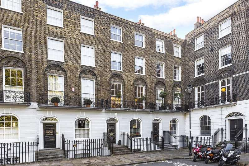 4 Bedrooms House for sale in Myddelton Square, London, EC1R