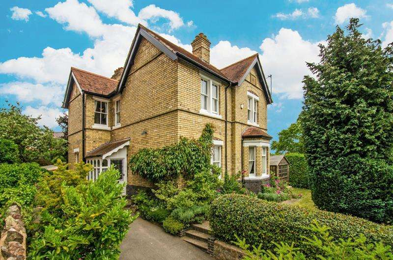5 Bedrooms Detached House for sale in The Croft House, 29 Avenue Road, Malvern, Worcestershire, WR14 3AY