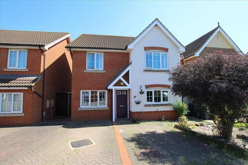 4 Bedrooms Detached House for sale in Sage Close, Biggleswade, SG18
