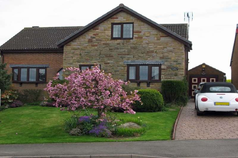 4 Bedrooms Detached Bungalow for sale in Bamford Road, Inkersall, Chesterfield, S43