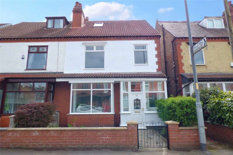 4 Bedrooms Semi Detached House for sale in Belgrave Road, New Moston, Manchester, M40