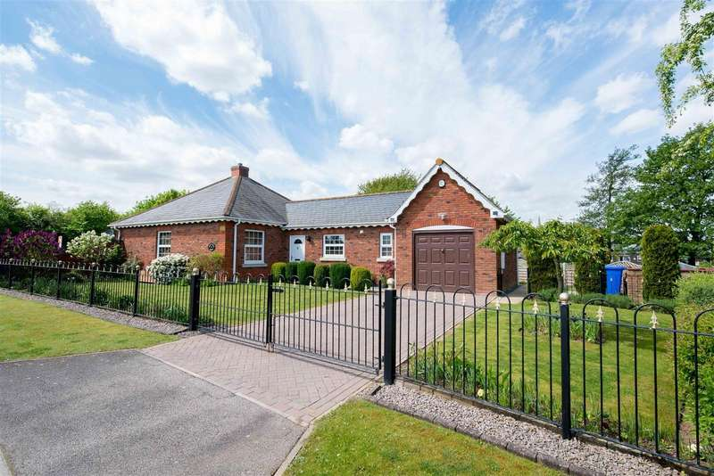 3 Bedrooms Bungalow for sale in St. Mary's Drive, Sutterton, Boston