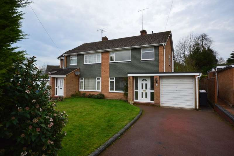 3 Bedrooms Semi Detached House for rent in Poplars Drive, Codsall, Wolverhampton, WV8
