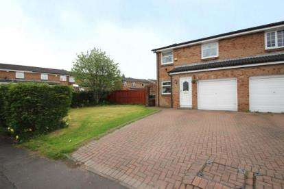 3 Bedrooms End Of Terrace House for sale in Chapelside Avenue, Airdrie, North Lanarkshire
