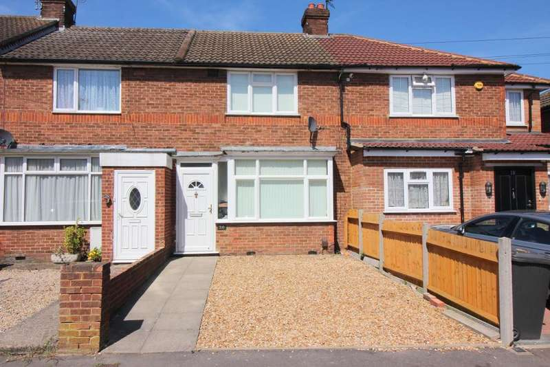 2 Bedrooms Terraced House for sale in Hazelwood Close, Luton, Beds, LU2 8AR
