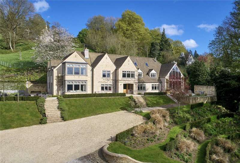 6 Bedrooms Detached House for sale in Theescombe, Amberley, Stroud, Gloucestershire