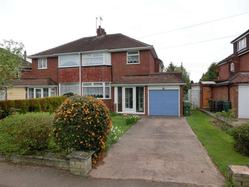 3 Bedrooms Semi Detached House for sale in Meadow Road, Wythall, Birmingham