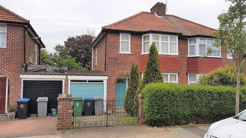 3 Bedrooms Semi Detached House for sale in Rydal Gardens, Kingsbury