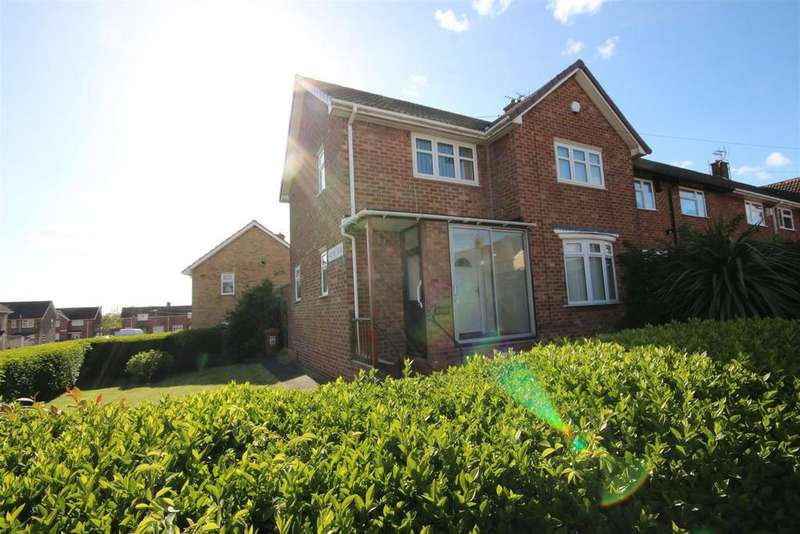 3 Bedrooms End Of Terrace House for sale in Midlothian Road, Owton Manor, Hartlepool