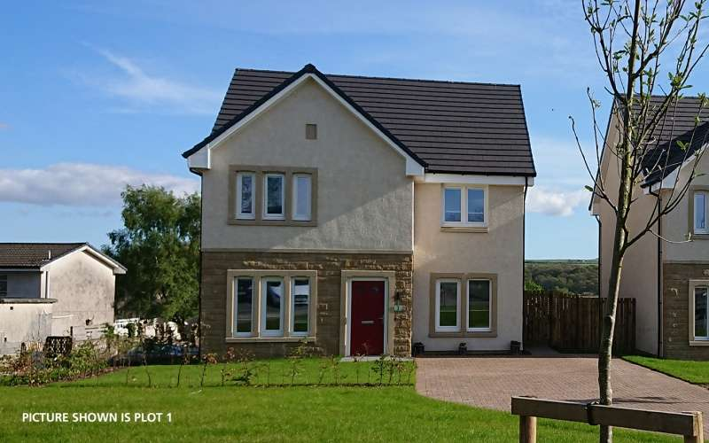 4 Bedrooms Detached House for sale in Holmhead Gardens Hospital Road, Cumnock, East Ayrshire, KA18 1RR