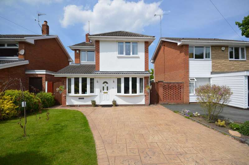 3 Bedrooms Detached House for sale in Winfrith Close, Spital