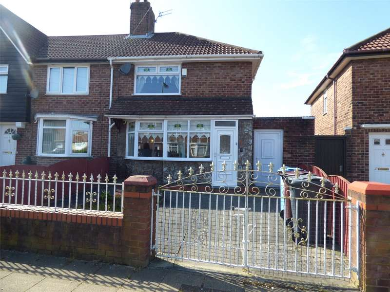 3 Bedrooms End Of Terrace House for sale in Saxby Road, Liverpool, Merseyside, L14