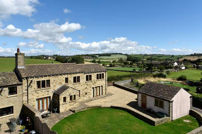 4 Bedrooms Cottage House for sale in Green Balk Lane, Little Lepton, Huddersfield, HD8