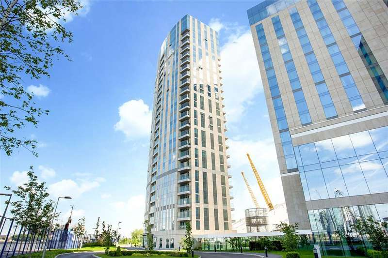 2 Bedrooms Flat for sale in Arora Tower, 2 Waterview Drive, Greenwich, London, SE10