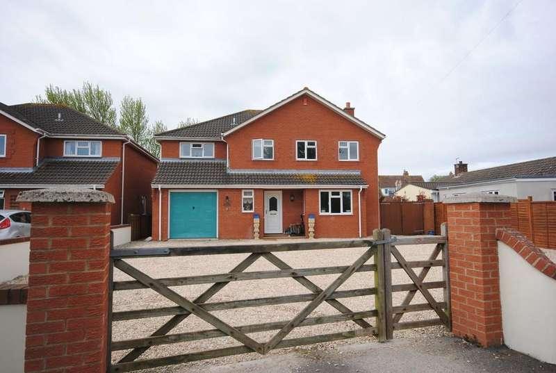 4 Bedrooms Detached House for sale in Biddisham Lane, Biddisham, Axbridge